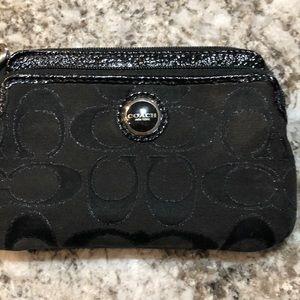 Authentic COACH wristlet or change purse